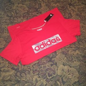 Adidas The Go-To Performance Tee Size Large